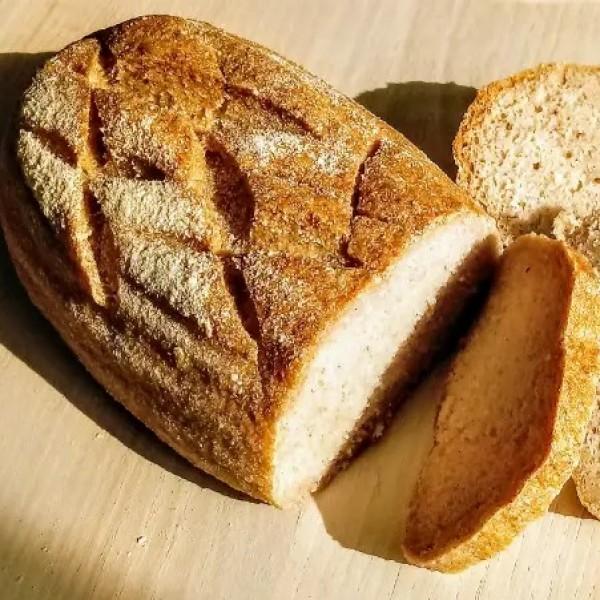 Paine din faina de orez cu maia (fara seminte) (1 buc.)