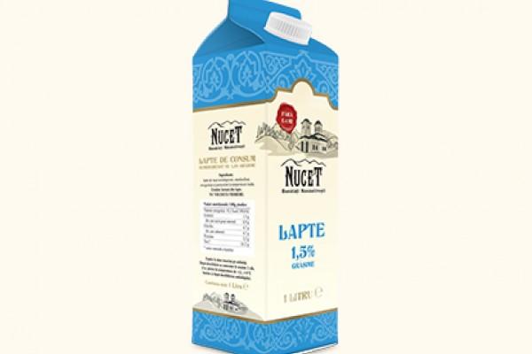 Lapte de consum 1,5% grasime
