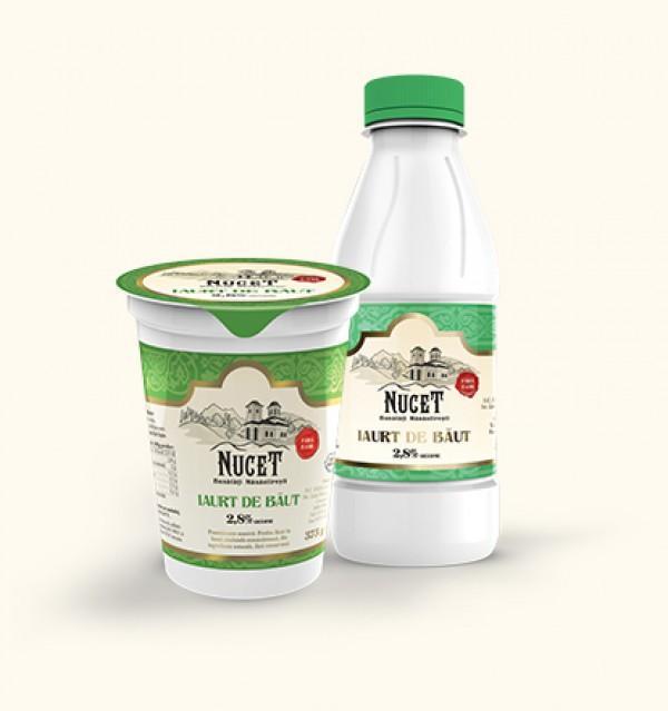 Iaurt de baut - 2,8% grasime (400 g)