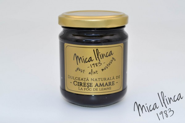 Dulceata de Cirese Amare (70% fruct, 30% zahar) (220 g)