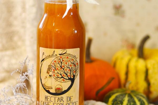 Nectar ecologic de caise fara zahar 0,33l