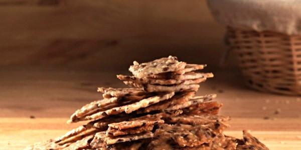 Biscuiti sarati cu maia din fainuri fara gluten