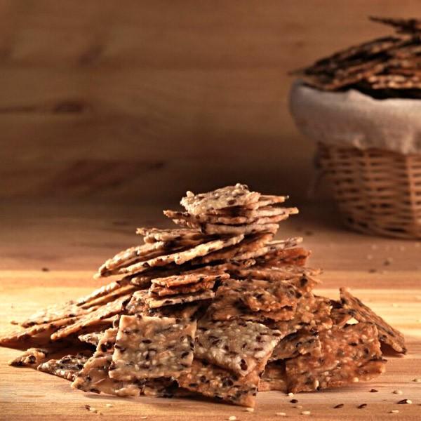 Biscuiti sarati cu maia din fainuri fara gluten (200 g)