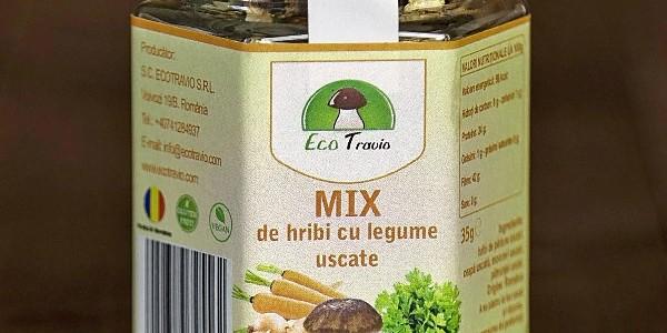 Mix de hribi cu legume