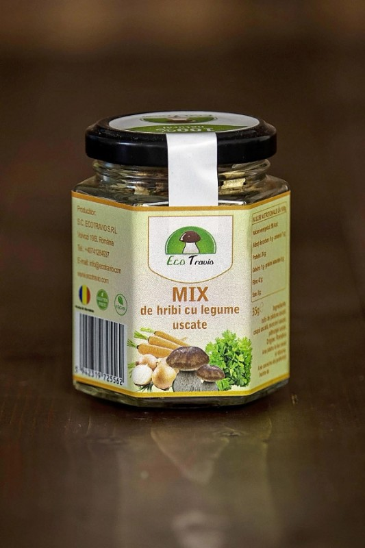 Mix de hribi cu legume (35 g)