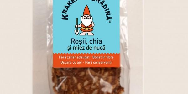Kraker de Gradina- Rosii, chia si nuca