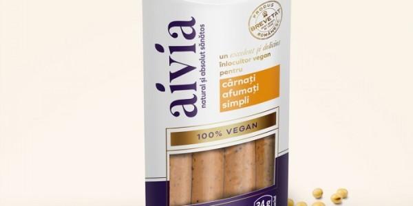 Cârnați vegani afumați
