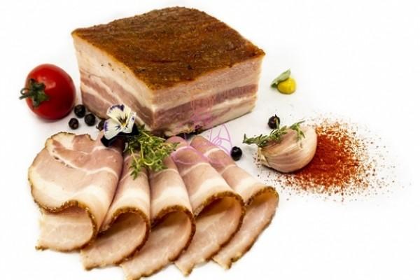 Piept de porc afumat