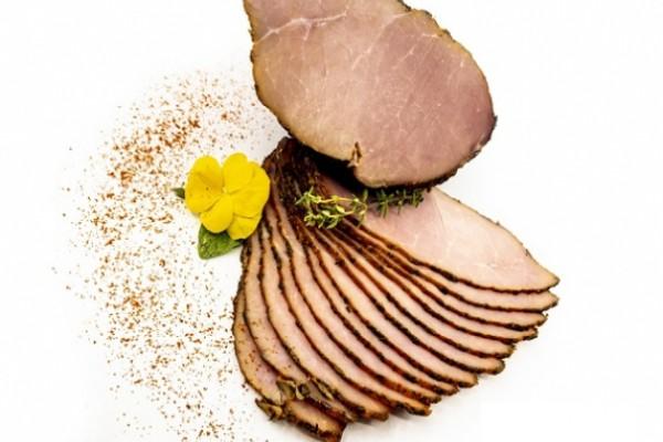 Pastrama de porc coapta