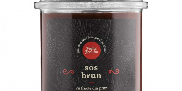 Sos Brun cu fructe din prun
