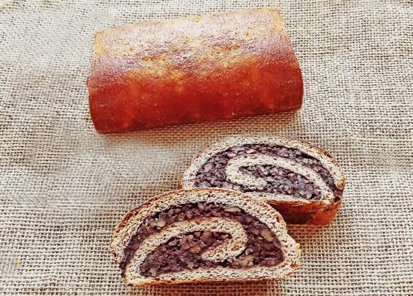 Cozonac cu nucă și cacao (low carb)
