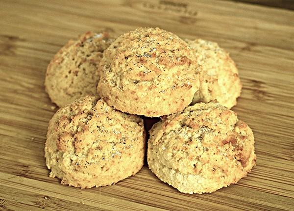 Biscuiți grăsuți cu scorțișoară (low carb) (10 buc.)