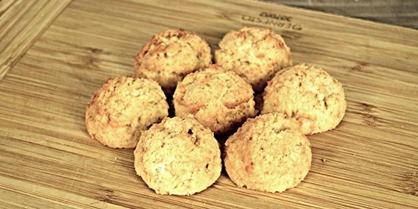 Biscuiți simpli (low carb)