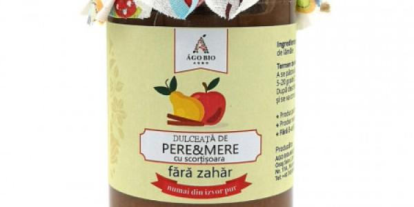 Dulceata de pere si mere cu scortisoara din Maramures