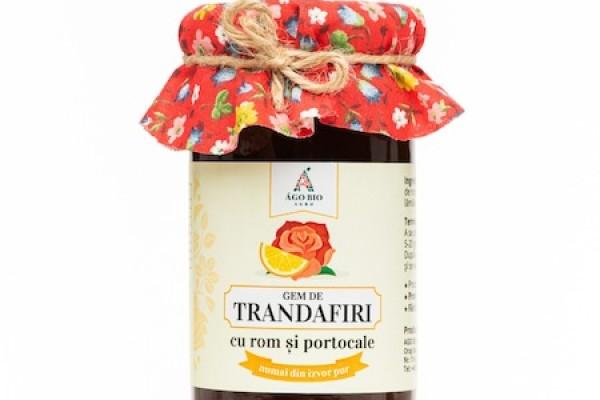Gem de trandafir cu rom si portocale din Maramures