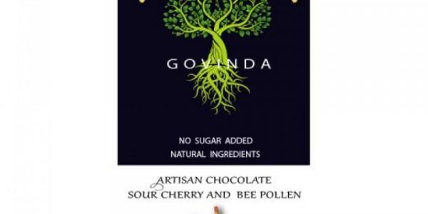 Ciocolată cu vișine și polen