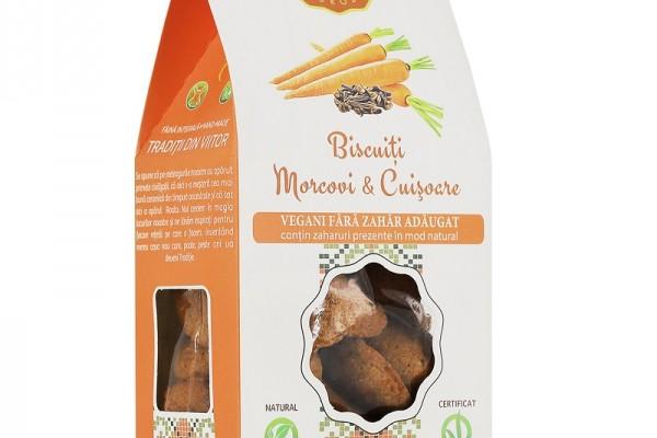 Biscuiți Vegani morcovi & cuișoare