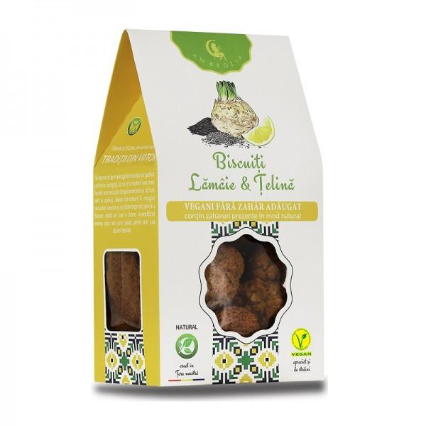 Biscuiți Vegani lămâie & țelină (150 g)