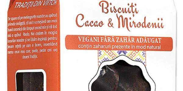 Biscuiți Vegani Cacao & Mirodenii