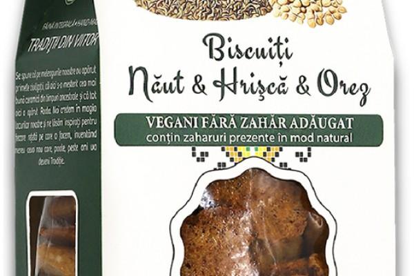 Biscuiți vegani Năut & Hrișcă & Orez