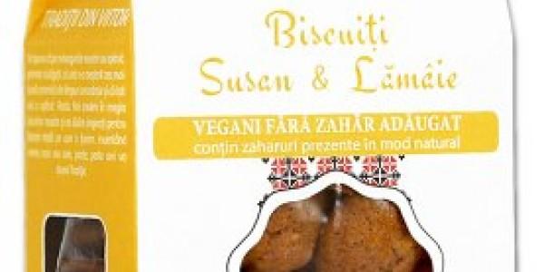 Biscuiți susan & lămâie