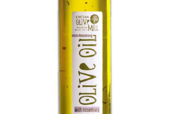 Ulei de măsline extra virgin aromatizat cu rozmarin