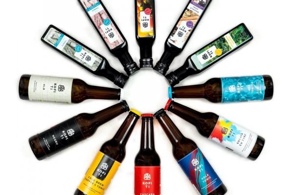 CUTIA CU DE TOATE | toate băuturile artizanale Kofi Ti