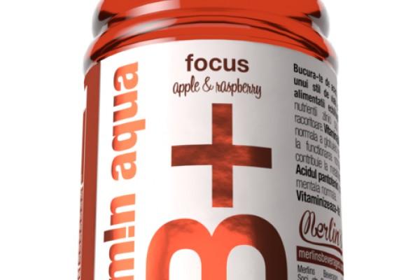 Vitamin Aqua B+ Apple & Raspberry