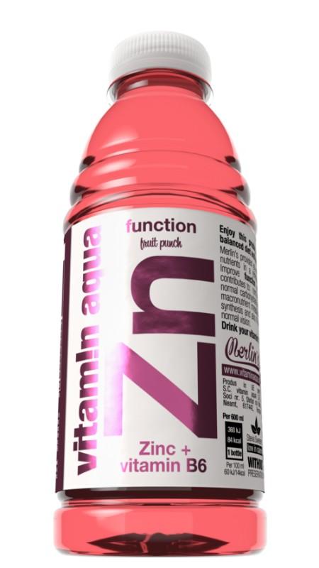 Vitamin Aqua Zn Fruit Punch