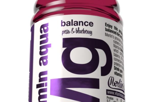 Vitamin Aqua Mg Pear & Blueberry