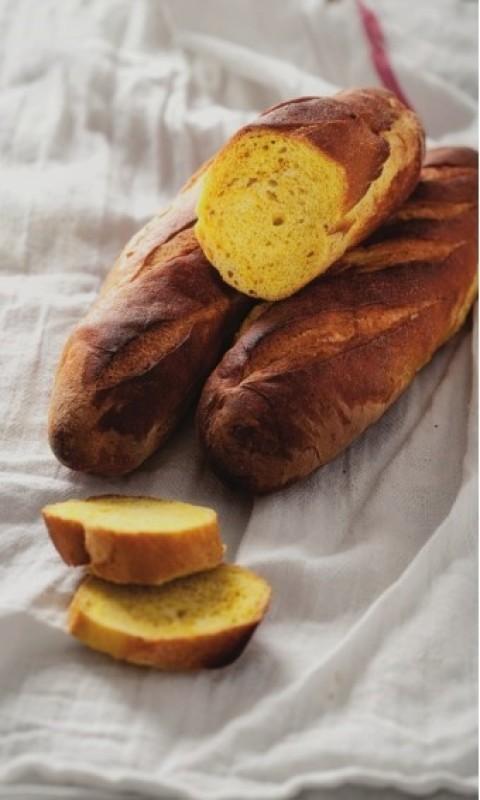 Pâine cu turmeric