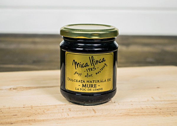 Dulceata de Mure (70% fruct, 30% zahar) (220 g)