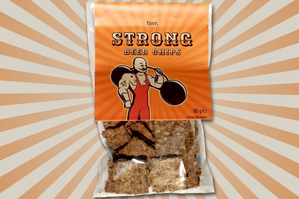 Strong beer chips