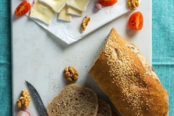 Pâine integrală multicereale (franzelă)