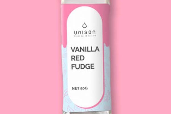 Vanilla Red Fudge