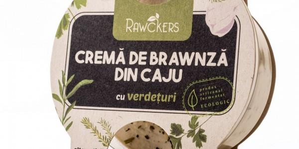 Cremă brawnză Rawckers ECO Verdețuri