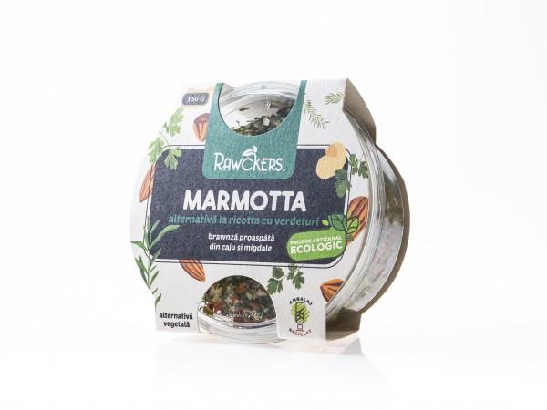 Ricotta Marmota Rawckers ECO (150 g)