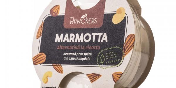 Ricotta Marmota Rawckers ECO cu verdețuri