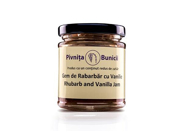 Gem de rabarbar cu vanilie (0.19 kg)