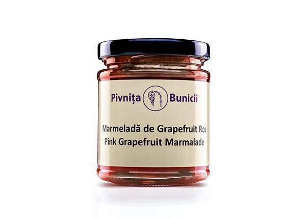 Marmeladă de Grapefruit Roz (190 g)