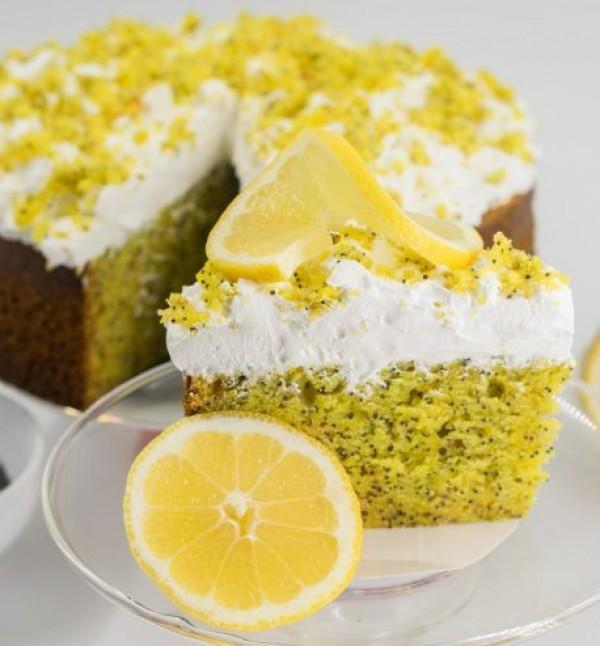 Lemon Poppy Cake (1 buc.)