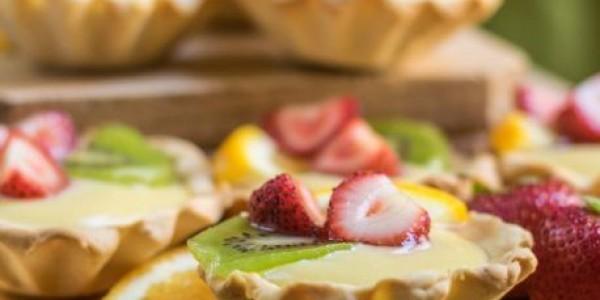 Tarte vegane cu Fructe