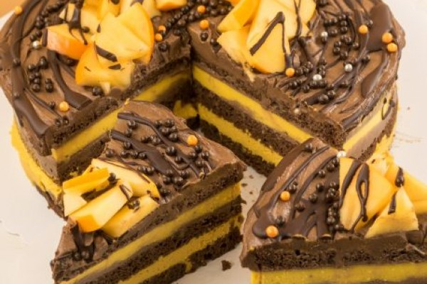 Tort Orange Chocolate