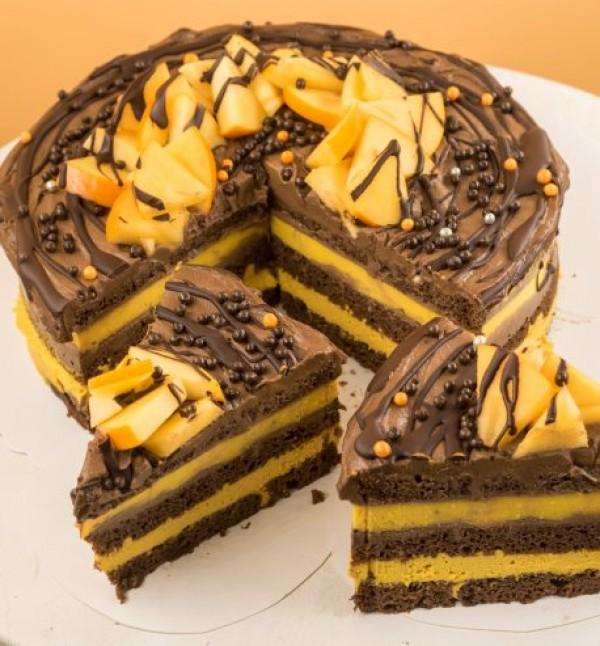 Tort Orange Chocolate (1 buc.)