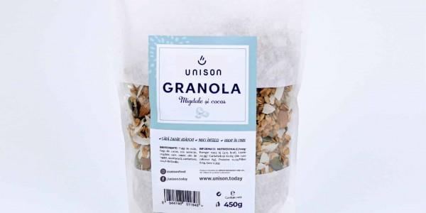 Granola Migdale și Fulgi de Cocos