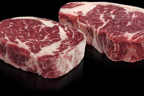 Vrăbioară vită grass fed maturată Angus (New York Strip Steak)