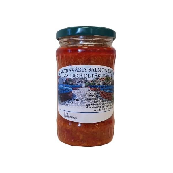 Zacuscă de păstrăv afumat (300 g)