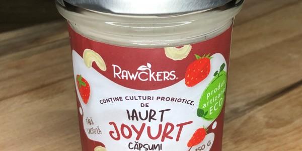 Joyurt cu căpșuni ECO din caju