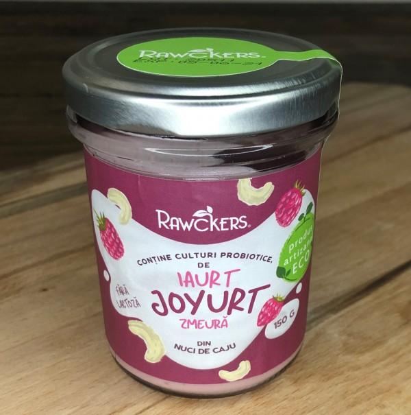 Joyurt cu zmeură ECO din caju (150 g)