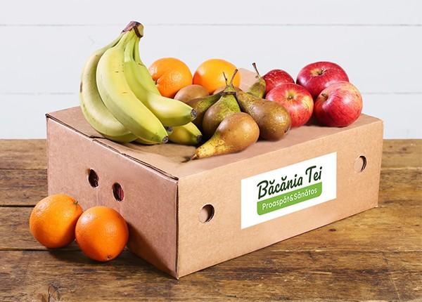 Lădiță Cu Fructe De Sezon (Mică) W22 (1 buc.)